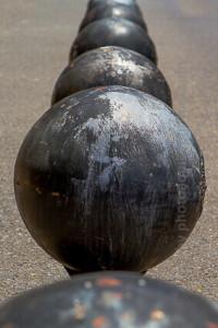 Kugeln von Oliver D. Doleski; balls by Oliver D. Doleski; Basis